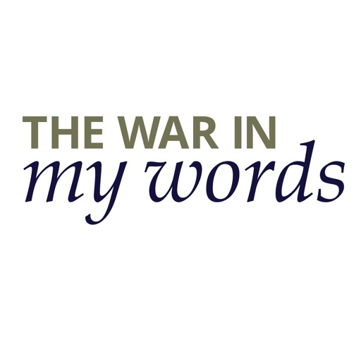 War In My Words iOS App