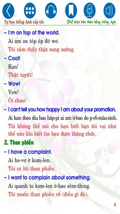 Tự học tiếng Anh cấp tốc Express my English skills screenshot-4