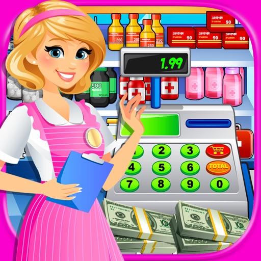 Hospital Cash Register Sim: Supermarket Games FREE