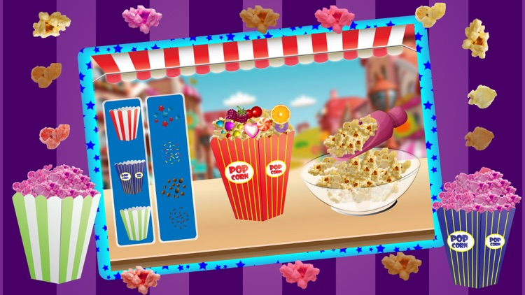 Popcorn Maker Cooking Games for kids screenshot-2