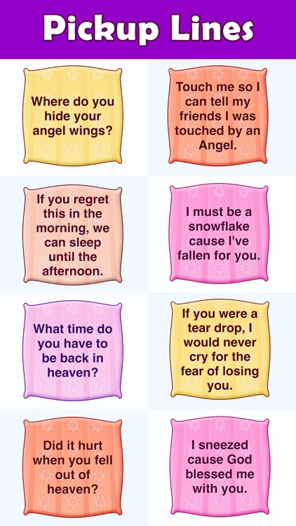 Cheesy Pickup Lines Stickers Set 1