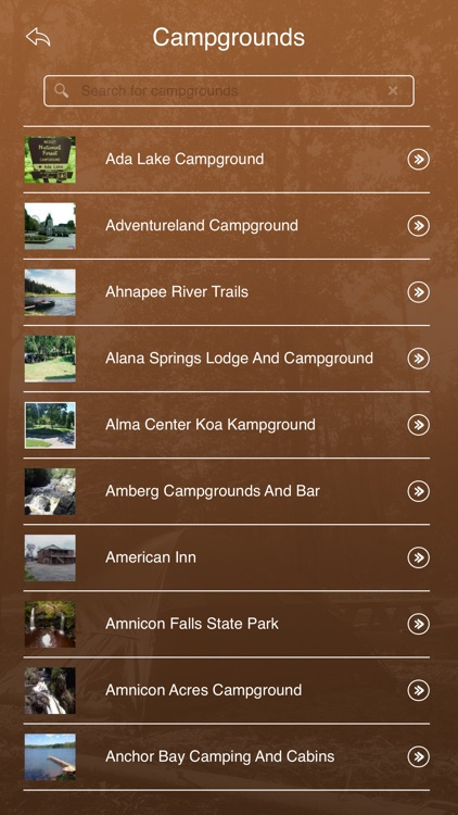 Wisconsin Camping & RV Parks