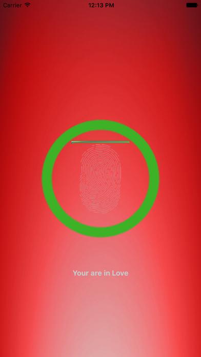 Prank Love Mood Finger Scanner screenshot three