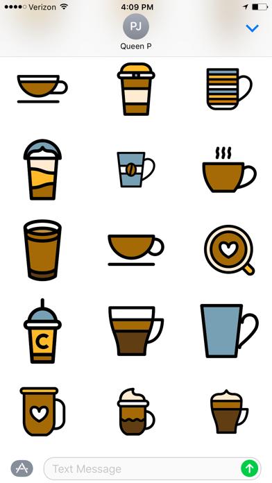 Coffee Time Stickers Screenshot