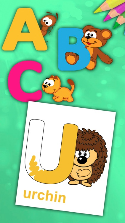 ABC Alphabet Coloring book to learn letters- Pro
