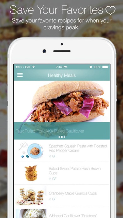 The Healthy Rebel - Secretly healthy recipes app image