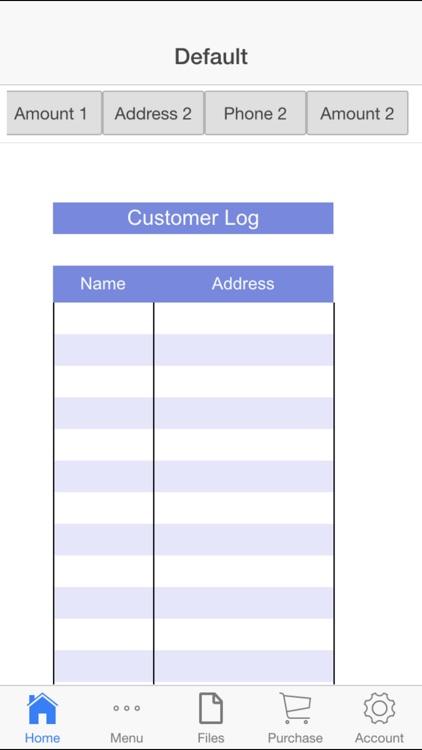 Customer Log screenshot-4