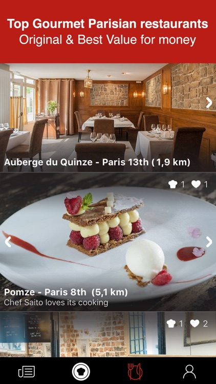Paris' Best Restaurants - Chefshout screenshot-3