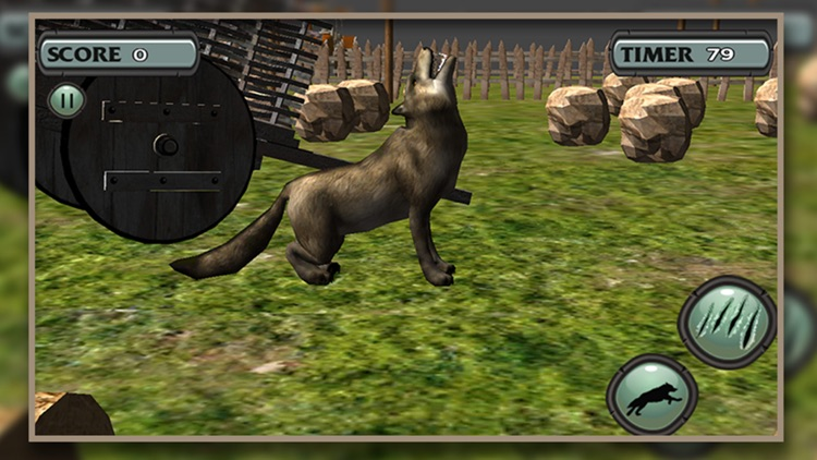 Wolf Simulator Arctic Wolves screenshot-4
