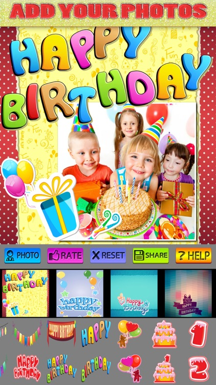 Happy Birthday Posters and Stickers