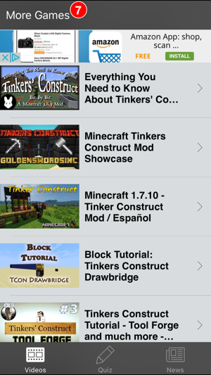 Tinker's Construct Mod for Minecraft PC on the App Store