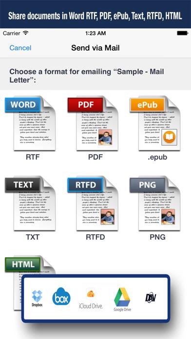 Скриншот №5 к Textilus Pro Word Processor