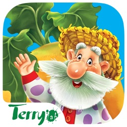 Turnip Giant. A kind fairy tale for kids