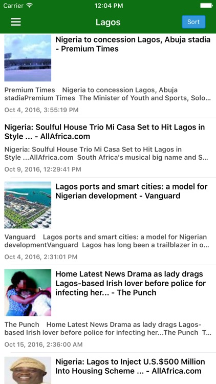 Nigeria News Today Pro - Naija Headlines & Videos screenshot-3