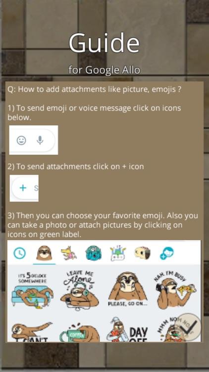 Guide for Google Allo