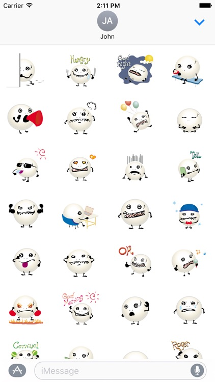 Smiley Monster Stickers screenshot-3
