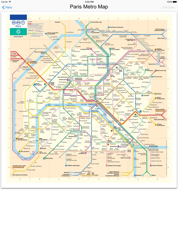 France Subway Map.Paris France Subway Maps App Price Drops