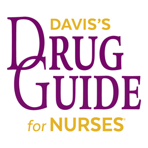 Davis's Drug Guide For Nurses app