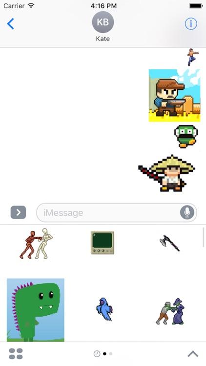 Pixel Art Stickers