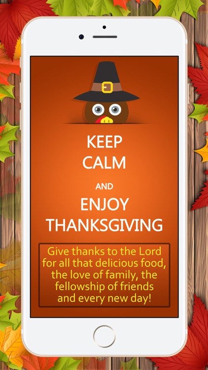 Thanksgiving Invitations and Greeting Card.s screenshot-4