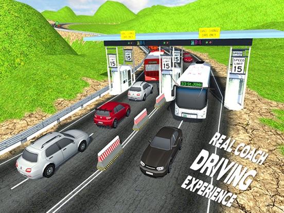 City Coach Bus Driver Simulator 2016 – Offroad Bus Hill Climbing Adventure-ipad-3