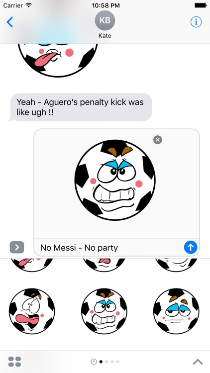 Soccer-Football  emojis express yourself