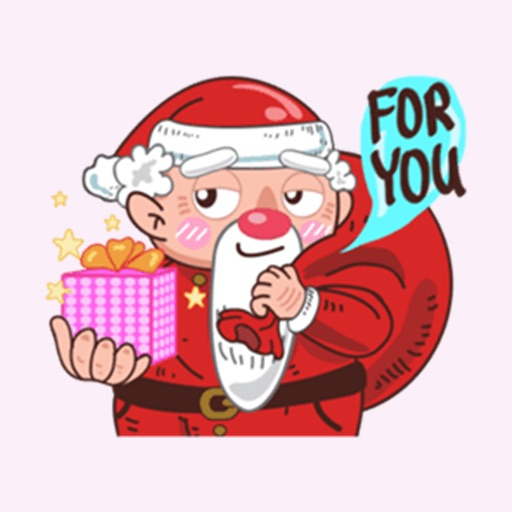 Santa Claus - Merry ChristMas Stickers Vol5