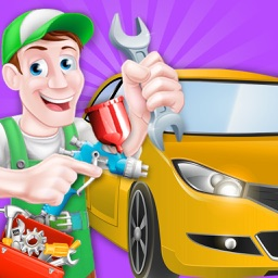 Car Wash Salon cleaning and washing simulator