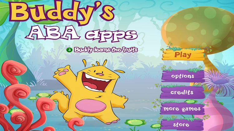 Learn the fruits - Buddy's ABA Apps