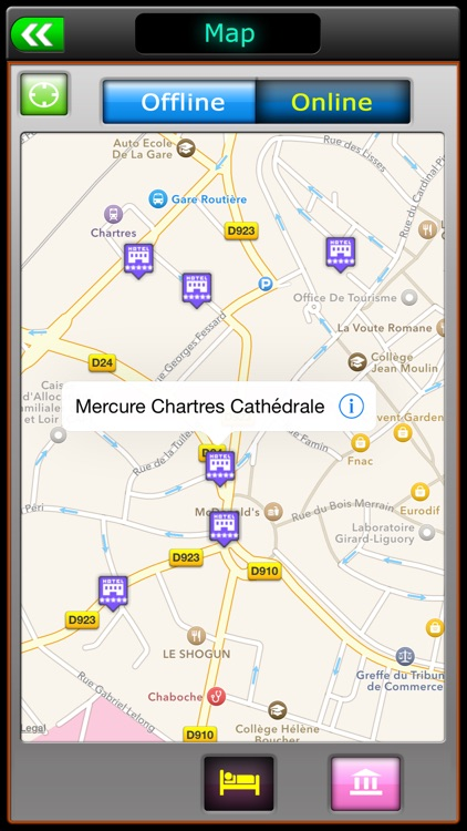 Chartres Offline Map Travel Guide screenshot-3