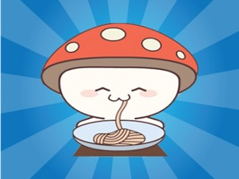 Mushroom Cute Sticker gives you the easiest way to add cute emoji stickers to your photos