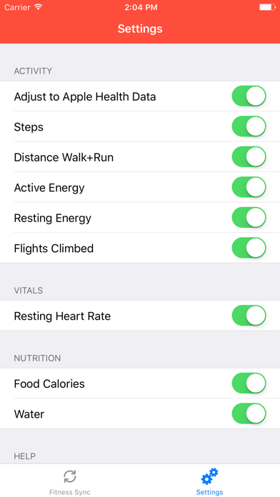 Fitness Sync for Fitb... screenshot1