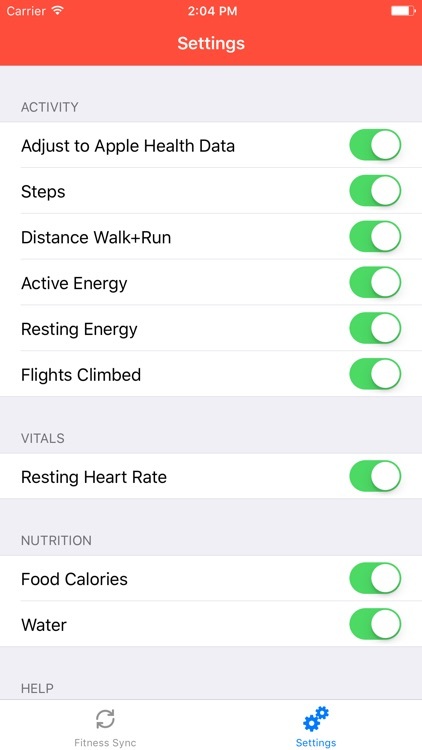 Fit Sync for Fitbit to Health