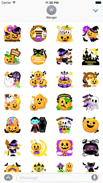 Halloween Colorful Stickers