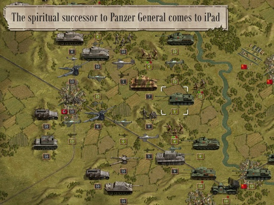 Screenshot #3 for Panzer Corps