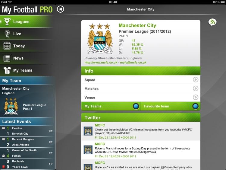 My Football Pro HD screenshot-3