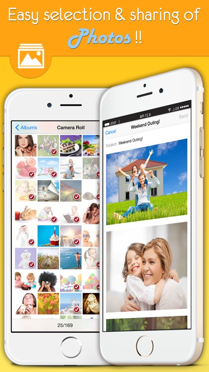Email Multiple Photos, Videos attach Pro for Gmail