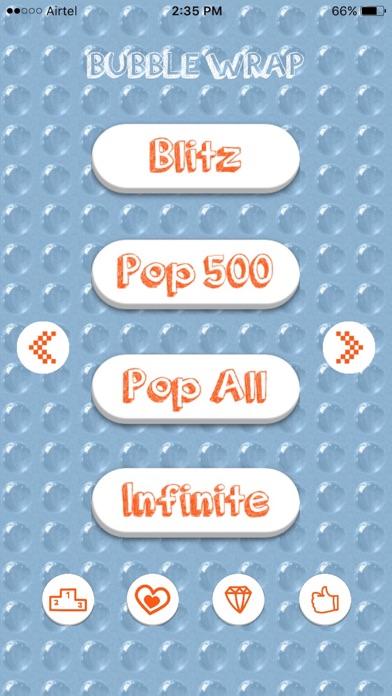 Bubble Wrap - The classic game screenshot one