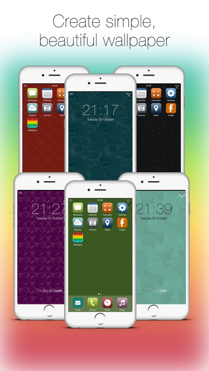 Wallpaper Maker: hd lock & home screen designer screenshot-0