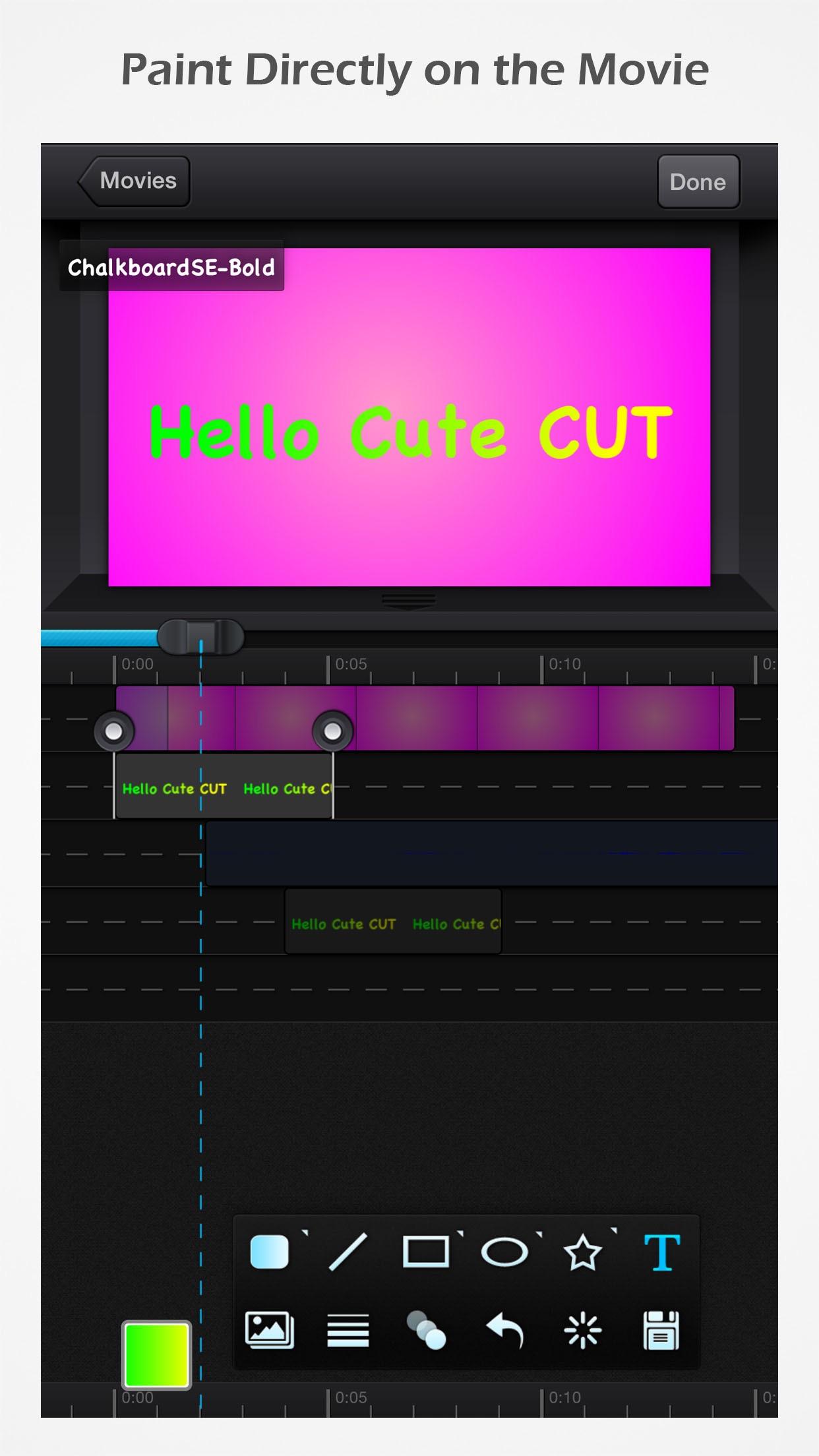 Cute CUT Screenshot