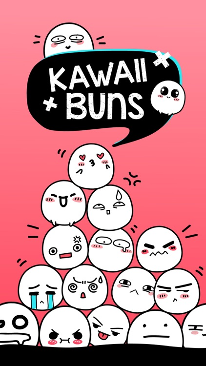 Kawaii Buns stickers
