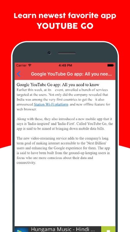 Guide for Youtube Go - Learn Offline Youtube App