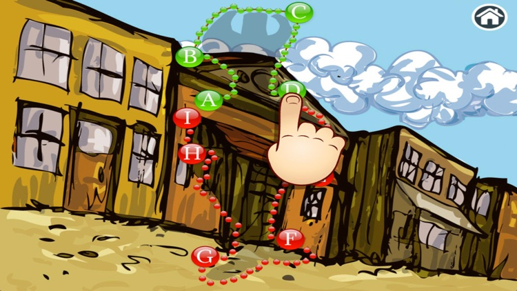 Wild West - Connect Dots for kids (Premium) screenshot-3