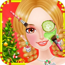 Christmas Party Makeup Spa Salon