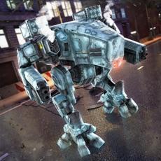 Activities of Robot Challenge . War Robots vs Steel Police Car