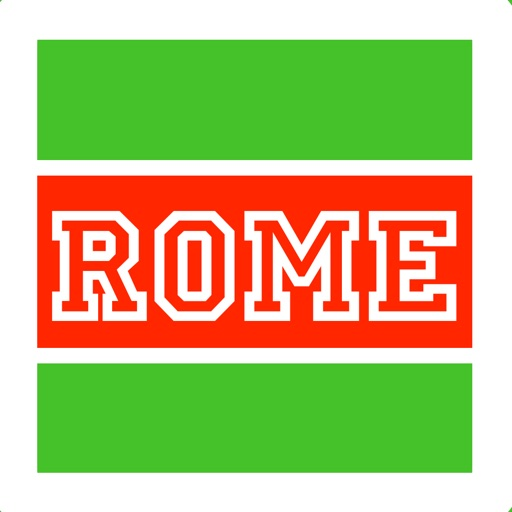 Rome travel guide, rome italy map rome tourist attractions directions to colosseum, vatican museum, offline ATAC city rome bus tram underground train maps