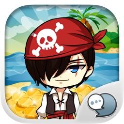 Pirates Emoji Stickers Keyboard Themes ChatStick