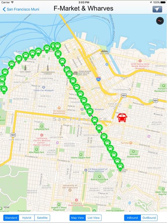 Muni San Francisco Subway Map.San Francisco Muni Transit California App Price Drops