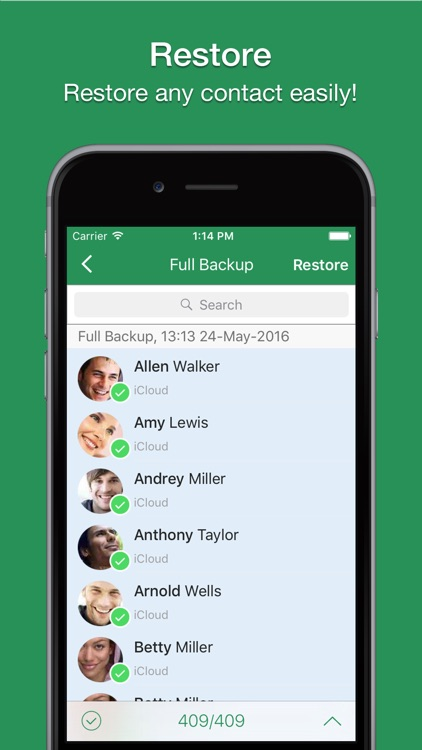 Contacts 2 XLS screenshot-4