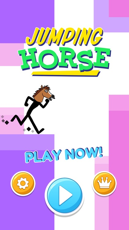 Jumping Horse Head Running Arcade Game